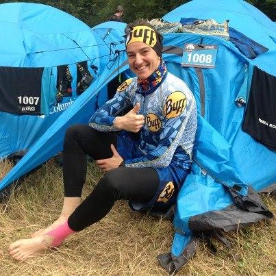 Emma Roca, atleta BUFF®, subcampeona de El Cruce Columbia 2013
