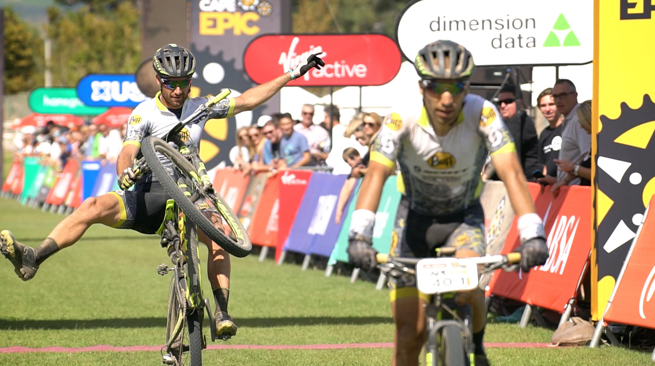El BUFF® Scott MTB Team, 1r equipo nacional en la Cape Epic 2017