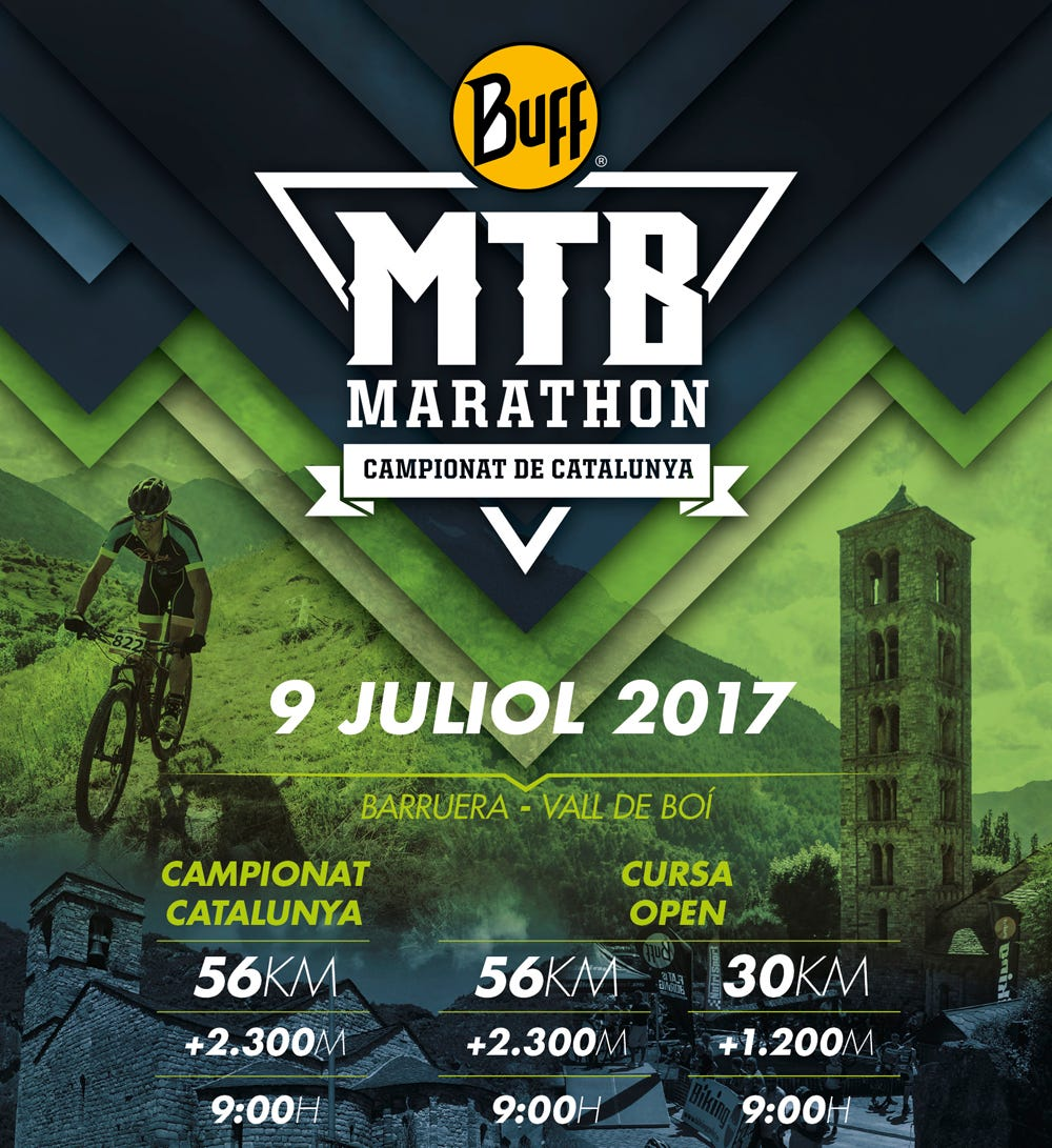 Nuevo BUFF® MTB Marathon: nuevos recorridos en un escenario único